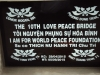 Bang Ten cau 10TH Love Peace Bridge