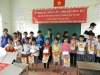 Delivered 20 Scholarships at Ban Thach Sch. 01-30-15