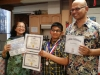 Neelim & his parents pride
